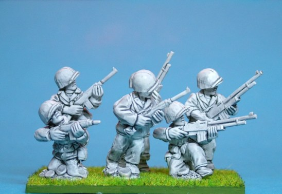 28mm WW2 28mm united states marines with carbines