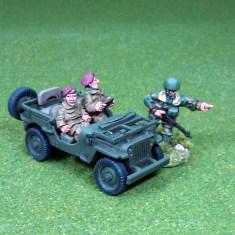 British air landed jeep