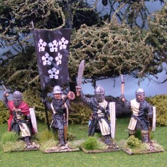 Medieval Foot Knights and Infantry.