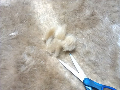 Roads cut into the fur with a pair of sharp scissors.