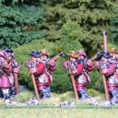 28mm thirtye years Musketeers