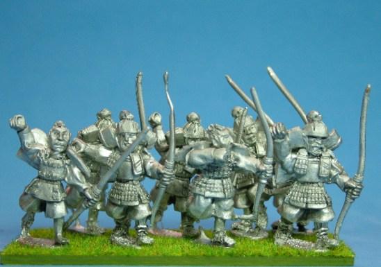 Samurai Infantry with katana and bow