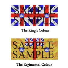 British Seven Years War Flags