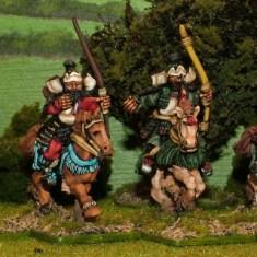 Samurai Cavalry with katana and bow
