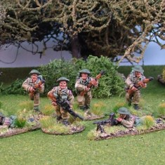 British Infantry Section Packs