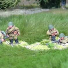 28mm ww2 Russian anti tank rifle teams