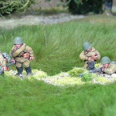 28mm ww2 Russian anti tank rifle teams