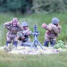 28mm ww2 russian 81mm mortar