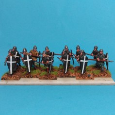 Medieval painted figures for sale