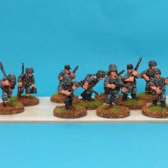 Painted WW2 figures for sale.