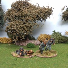 28mm ww2 german 50mm mortar and crew