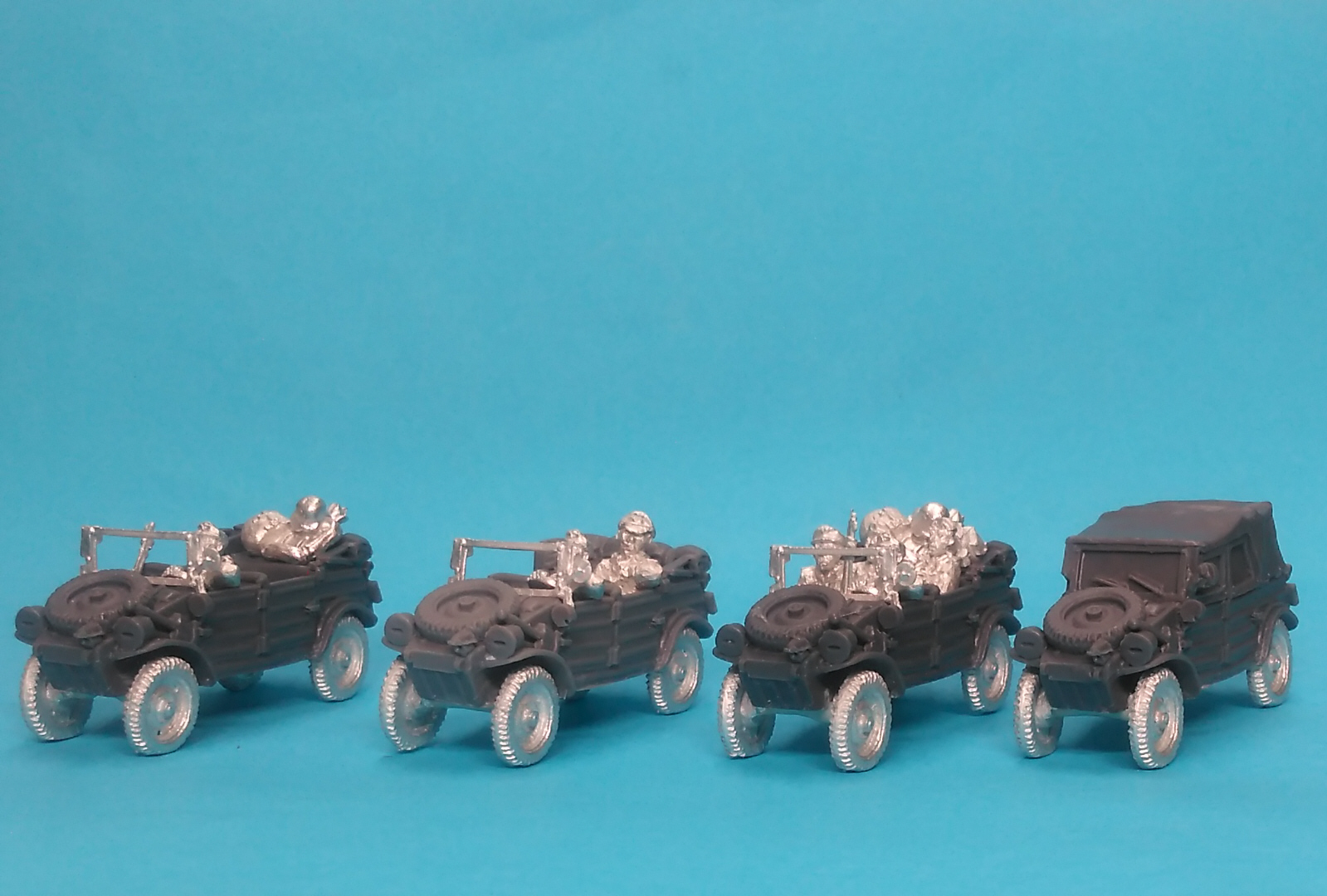 Kubelwagen 4 vehicles