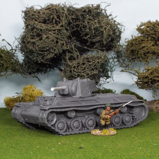 28mm ww2 russian kv1 heavy tank