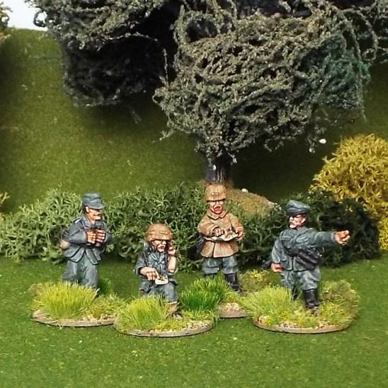 28mm ww2 german platoon or company command