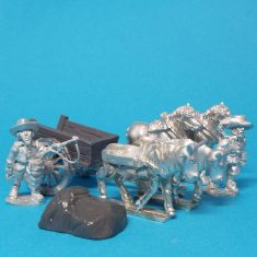 28mm thirty years war cart with covered load
