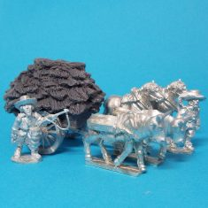 28mm thirty years war cart with hay