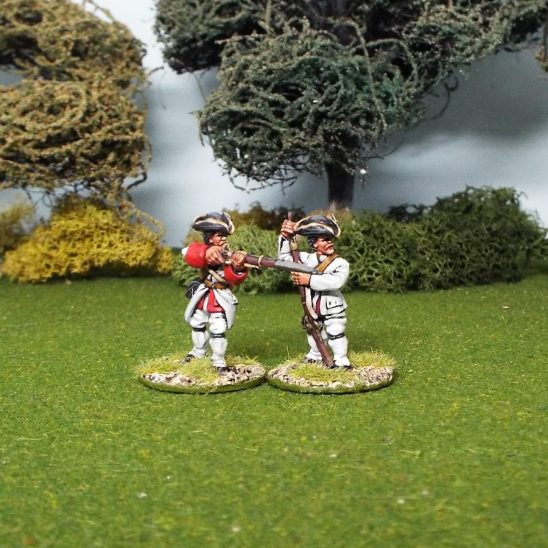 28mm seven years war french firing line