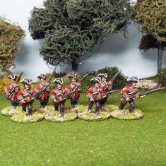 28mm seven years war british miniatures