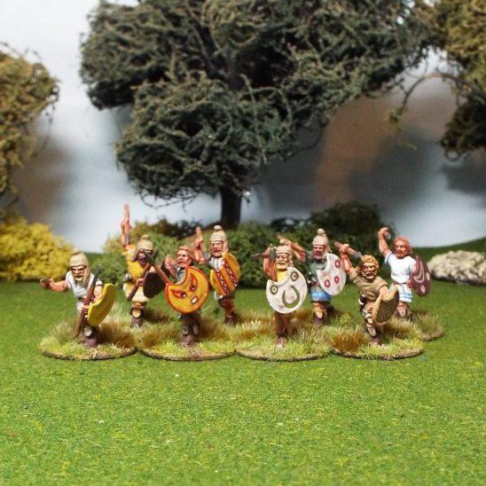 28mm Thracian Warriors