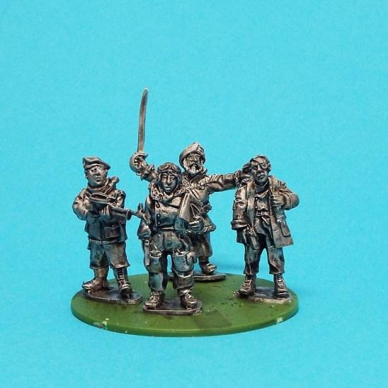 28mm pulp adventurers miniatures