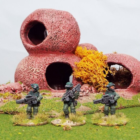 25mm coloniaal troopers starship marines