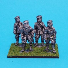 28mm english civil war armoured pikemen wearing bonnet.