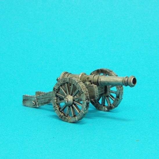 28mm english civil Demi Culverin Heavy Artillery Piece