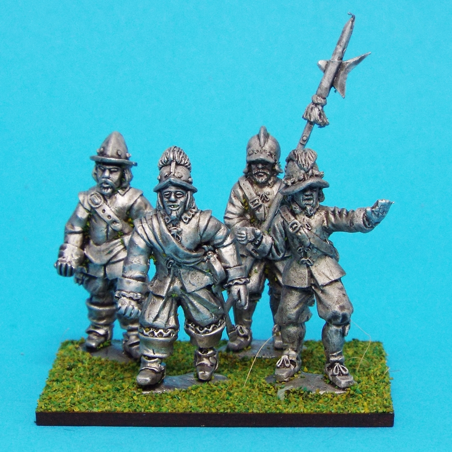 28mm english civil war sergeants