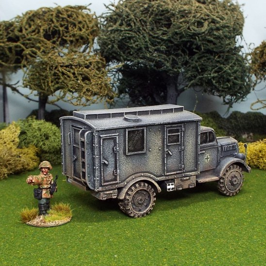 1/48 scale ww2 german opel blitz