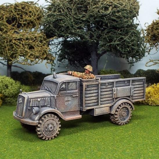 1/48 scale ww2 german opel blitz truckl