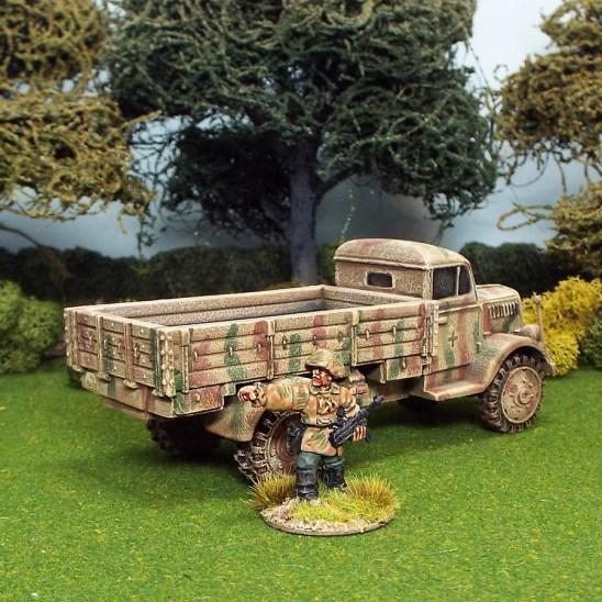 1/48 scale ww2 opel blitz truck