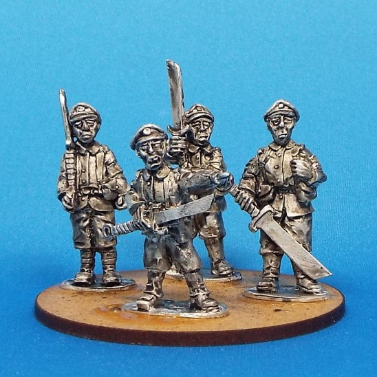 28mm pulp adventures chinese with big choppa's
