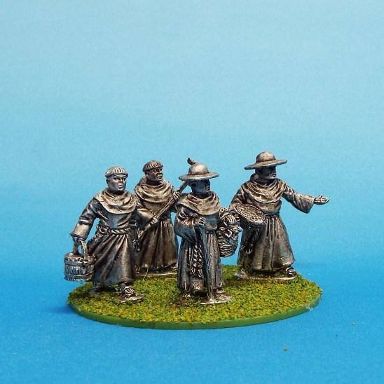 28mm medival friars monks