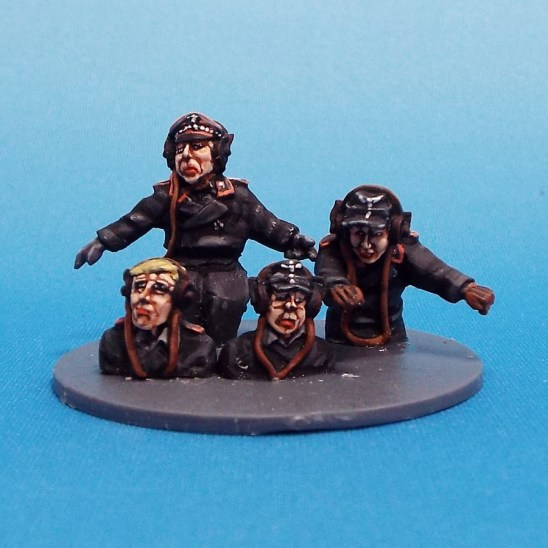 28mm ww2 german tank commanders