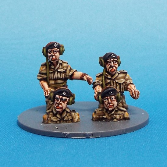 28mm ww2 british tank crew