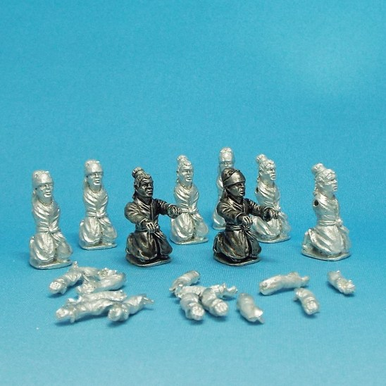 28mm chinese boat crew