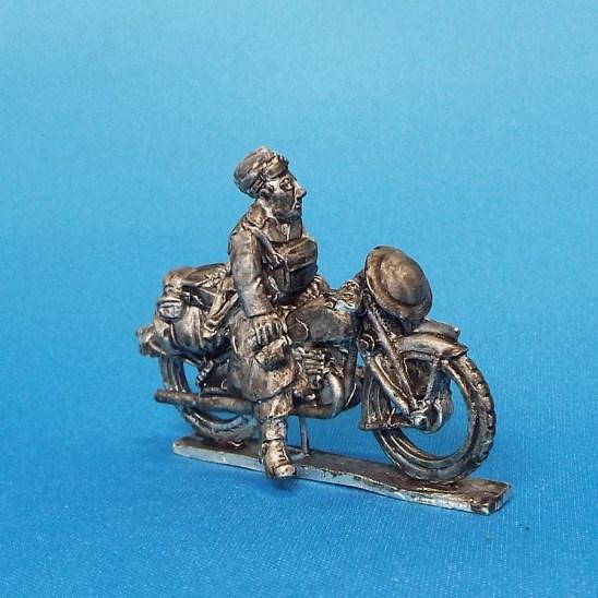 28mm ww2 British reconnaissance motorcycle