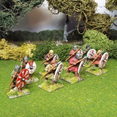28mm pedyt warriors advancing