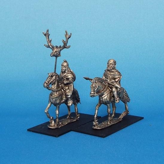 Thracian Chieftan and banner bearer