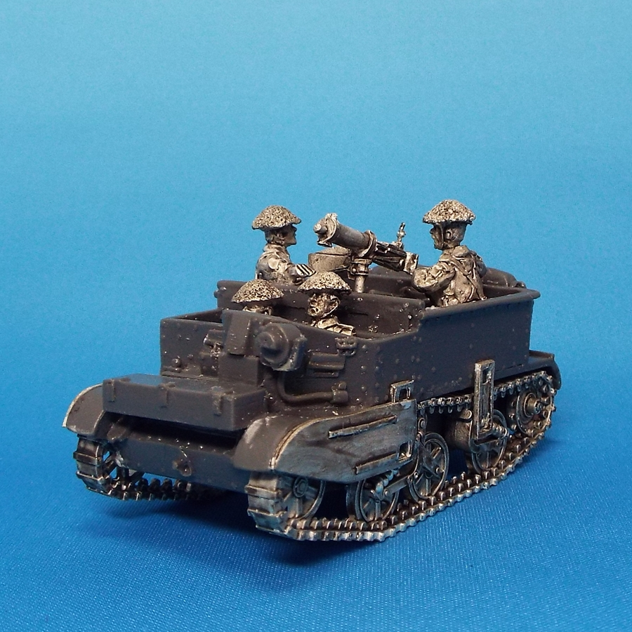 28mm 1/48 Universal carrier Vickers Machine Gun
