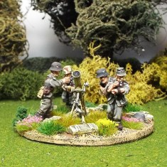 28mm 120mm ww2 german mortar