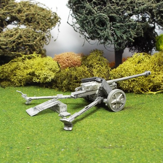 German 1/48 scale Pak40 75mm Anti Tank Gun.