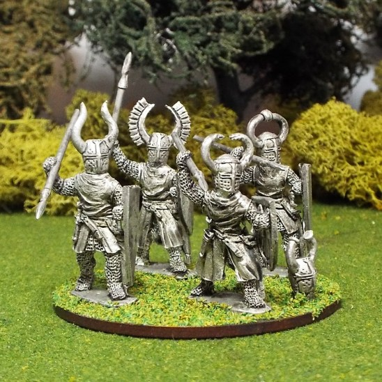 28mm Teutonic knights with spears.