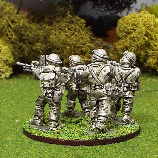 28mm Dismounted Home Front Team with Bren Gun
