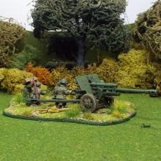 1/48 WW2R19c Zis3 Anti Tank Gun 6 crew