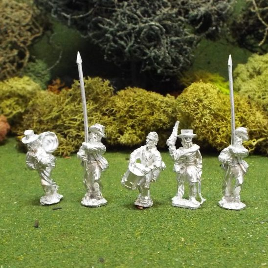 28mm Mexican American War US volunteer command