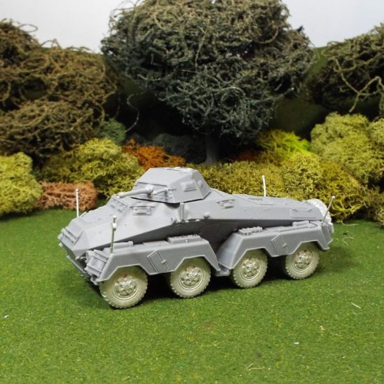 1/48 German SDKFZ231 8 Rad