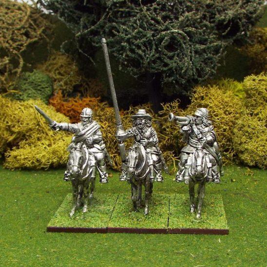 28mm English Civil War Cavalry Command