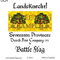 28mm Landscecht Dutch Free Company flag