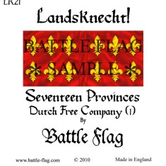 28mm Dutch Free Company Landsknecht Renaissance Wargame Banners and Flags